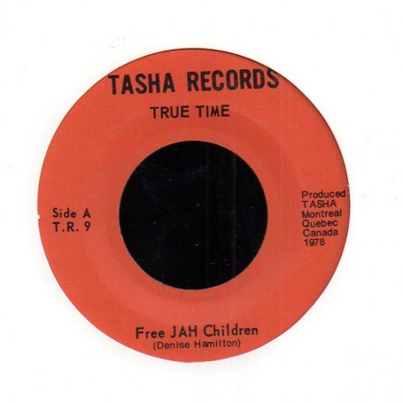 "(7"") DENISE HAMILTON - FREE JAH CHILDREN / INSTRUMENTAL"