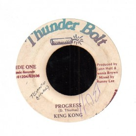 "(7"") KING KONG - PROGRESS / VERSION"