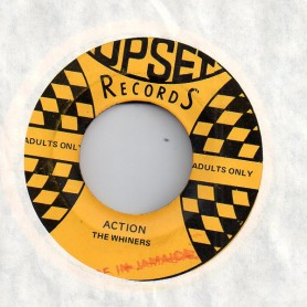 "(7"") THE WHINERS - ACTION / BOBBY ELLIS - ACTION VERSION"