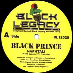 "(12"") NAPHTALI - BLACK PRINCE / PRINCE OF DUB"