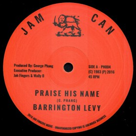 "(12"") BARRINGTON LEVY - PRAISE HIS NAME / VERSION"