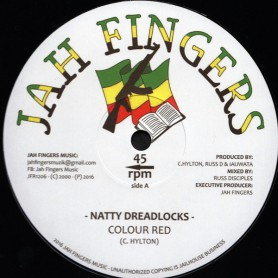 "(12"") COLOUR RED - NATTY DREADLOCKS / I AM ON A MISSION"