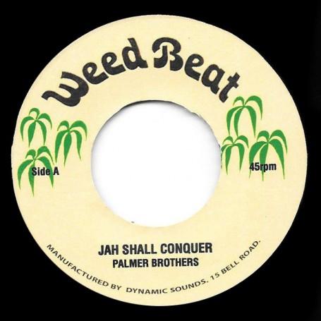 "(7"") PALMER BROTHERS - JAH SHALL CONQUER / REVOLUTIONARIES - LION VERSION"