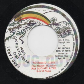 "(7"") RAS MICHAEL & THE SONS OF NEGUS - NUMBERED DAYS / DUB 460 ADD YEARS"