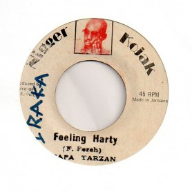 "(7"") PAPA TARZAN - FEELING HARTY / KOJAK ALL STARS - NIGGER"