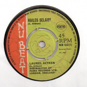 "(7"") LAUREL AITKEN - HAILES SELAISE / GIRLIE & LAUREL AITKEN - BLUES DANCE"