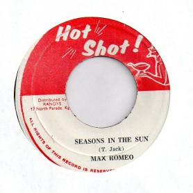 "(7"") MAX ROMEO - SEASONS IN THE SUN / VERSION INSTRUMENTAL"