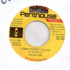 "(7"") GARNETT SILK - EVERYTHING I'VE GOT / REMIX"