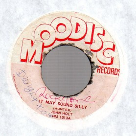 "(7"") JOHN HOLT - IT MAY SOUND SILLY / VERSION"