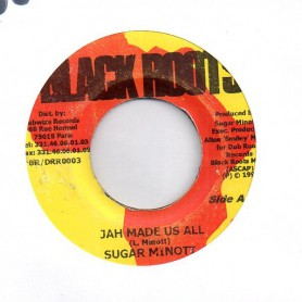 "(7"") SUGAR MINOTT - JAH MADE US ALL / BOOM"