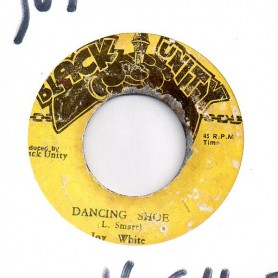 "(7"") JOY WHITE - DANCING SHOE / VERSION"