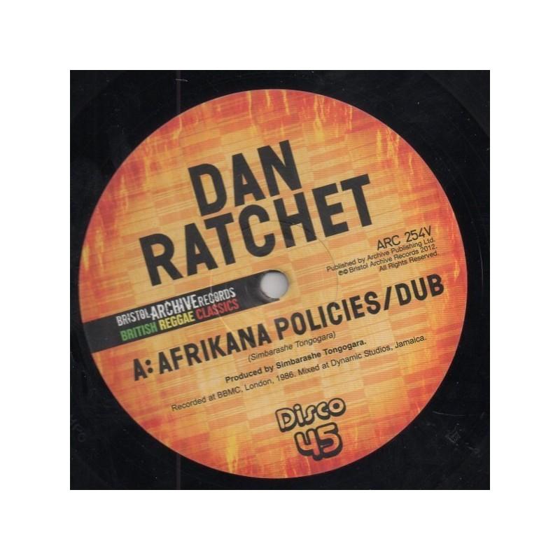 "(12"") DAN RATCHET - AFRIKANA POLICIES / EKOME IS UNITY"