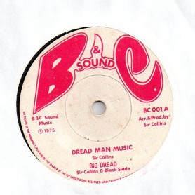 "(7"") BIG DREAD - DREAD MAN MUSIC / LLOYD CHALMERS - DREAD MAN SPECIAL"