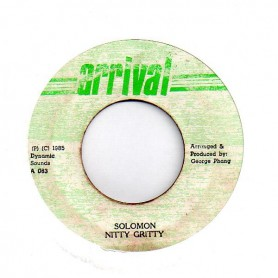 "(7"") NITTY GRITTY - SOLOMON / VERSION"