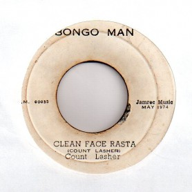 "(7"") COUNT LASHER - CLEAN FACE RASTA / DUB"