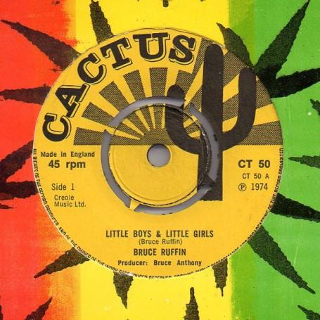 """(7"""") BRUCE RUFFIN - LITTLE BOYS & LITTLE GIRLS"""