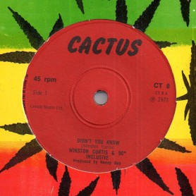 "(7"") WINSTON CURTIS & 90° INCLUSIVE - DIDN'T YOU KNOW"