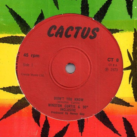 """(7"""") WINSTON CURTIS & 90° INCLUSIVE - DIDN'T YOU KNOW"""