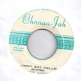 "(7"") JIMMY LONDON - JIMMY SAY HELLO / PEGGY MY LOVE"
