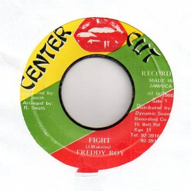 "(7"") FREDDY ROY - FIGHT / VERSION"