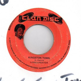 "(7"") LORD CREATOR - KINGSTON TOWN / HOLLY HOLY"