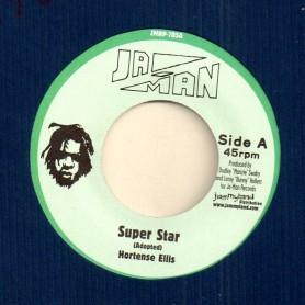 "(7"") HORTENSE ELLIS - SUPER STAR / SUPER DUB"