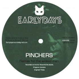 "(12"") PINCHERS - FLAMES FOR THE WICKED MEN / ROBERT FFRENCH - CASHFLOW"