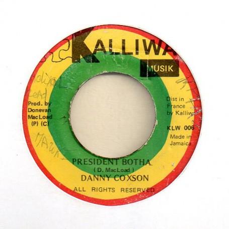 "(7"") DANNY COXSON - PRESIDENT BOTHA / VERSION"