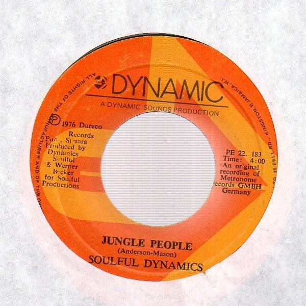 SOULFUL DYNAMICS - Jungle People / Sugar Baby