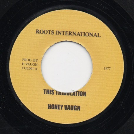"(7"") HONEY VAUGN - THIS TRIBULATION"