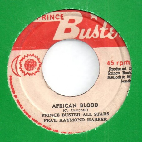 "(7"") PRINCE BUSTER - AFRICAN BLOOD / BEWARE BROTHER"
