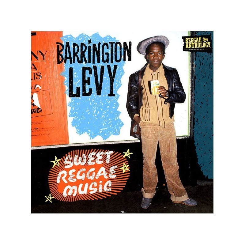 (LP) BARRINGTON LEVY - REGGAE ANTHOLOGY : SWEET REGGAE MUSIC