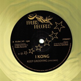 "(12"") I KONG - KEEP GROOVING / NAJAVIBES & FAYA HORNS - KEEP BLOWING / ANDROO - KEEP MOVING"
