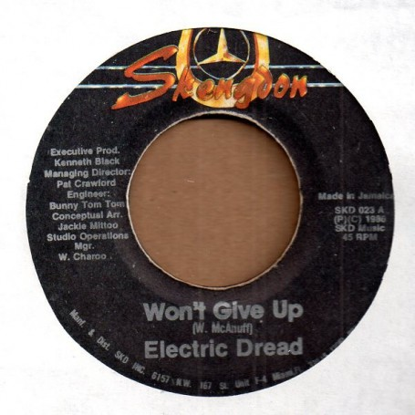 "(7"") ELECTRIC DREAD - WON'T GIVE UP / STRANGER STRONG"