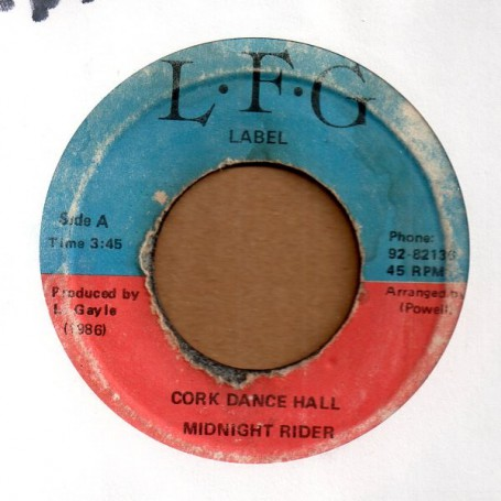 "(7"") MIDNIGHT RIDER - CORK DANCE HALL / VERSION"