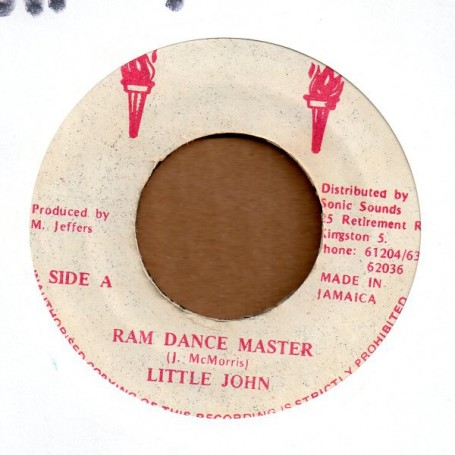 "(7"") LITTLE JOHN - RAM DANCE MASTER / VERSION"