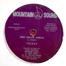 """(12"""") TRIBES - FREE SOUTH AFRICA / DUBB FOR FREEDOM"""