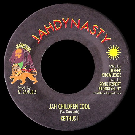 "(7"") KEITHUS I (Milton Samuels) - JAH CHILDREN COOL / DREAD A RULE DUB"