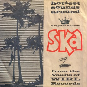 (LP) SKATALITES - SKA FROM THE VAULTS OF WIRL RECORDS