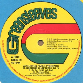 """(12"""") AUGUSTUS PABLO PRESENTS EL ROCKERS CHAPTERS I TO IV"""