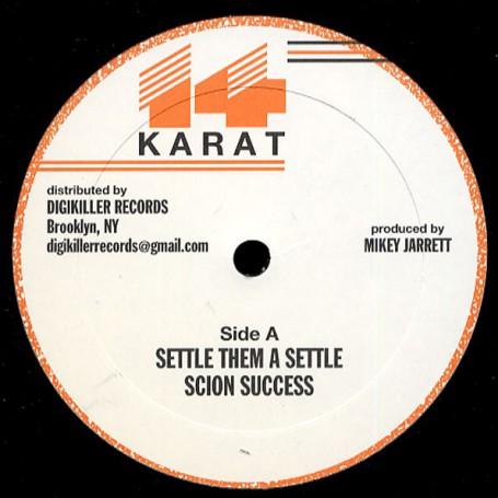 """(12"""") SCION SUCCESS - SETTLE THEM A SETTLE"""