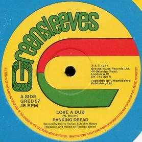 """(12"""") RANKING DREAD - LOVE A DUB / DUB A DUB"""