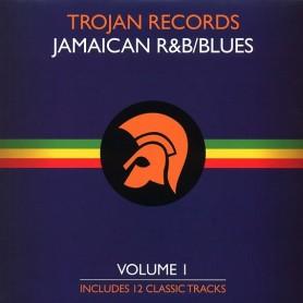 (LP) VARIOUS - TROJAN RECORDS JAMAICAN R&B BLUES Vol 1