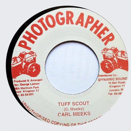 "(7"") CARL MEEKS - TUFF SCOUT / VERSION"