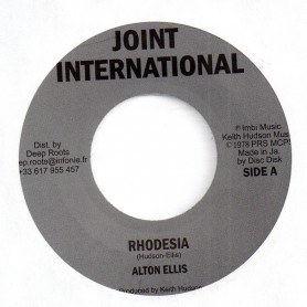 "(7"") ALTON ELLIS - RHODESIA / RED SEA"