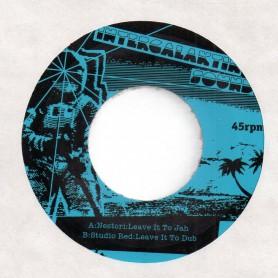 "(7"") NESTORI - LEAVE IT TO JAH / STUDIO RED - LIVE IT TO DUB"