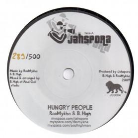 "(7"") RAS MYKHA & B. HIGH - HUNGRY PEOPLE / DUB"