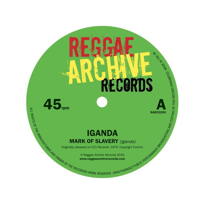 "(7"") (Pre-Order) IGANDA - MARK OF SLAVERY / SLOW DOWN"