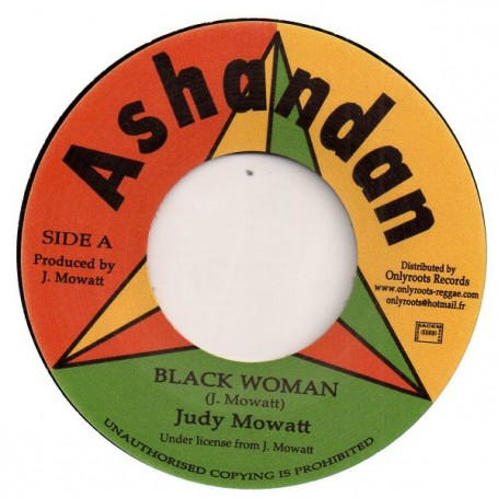 "(7"") JUDY MOWATT - BLACK WOMAN / JOY TULLOCH - BLACK BEAUTY"
