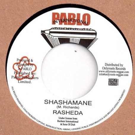 """(7"""") RASHEDA - SHASHAMANE / AUGUSTUS PABLO - SHASHAMANE VERSION"""